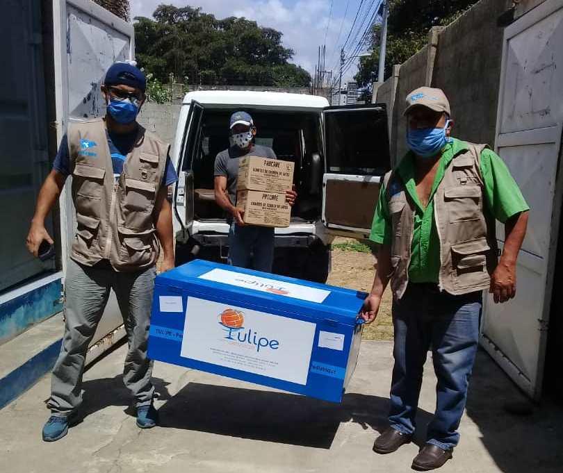 Avessoc llega al Centro Comunitario con nueva donación de medicamentos