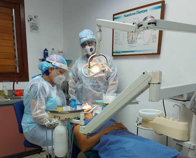 Insumos odontológicos para el Centro Comunitario